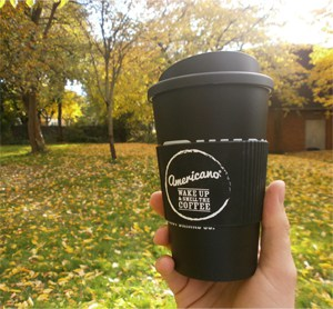 Americano In the midst of Autumn