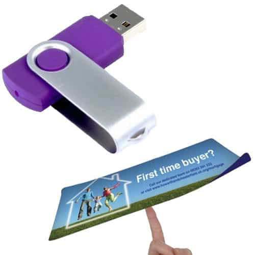 USB sticks and Mouse Mats are popular Promotional Items in the IT industry