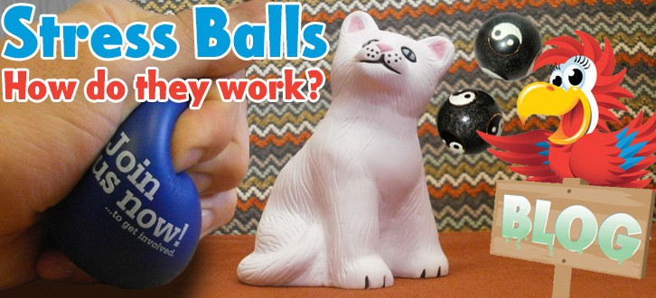 Printed Stress Balls and how they work