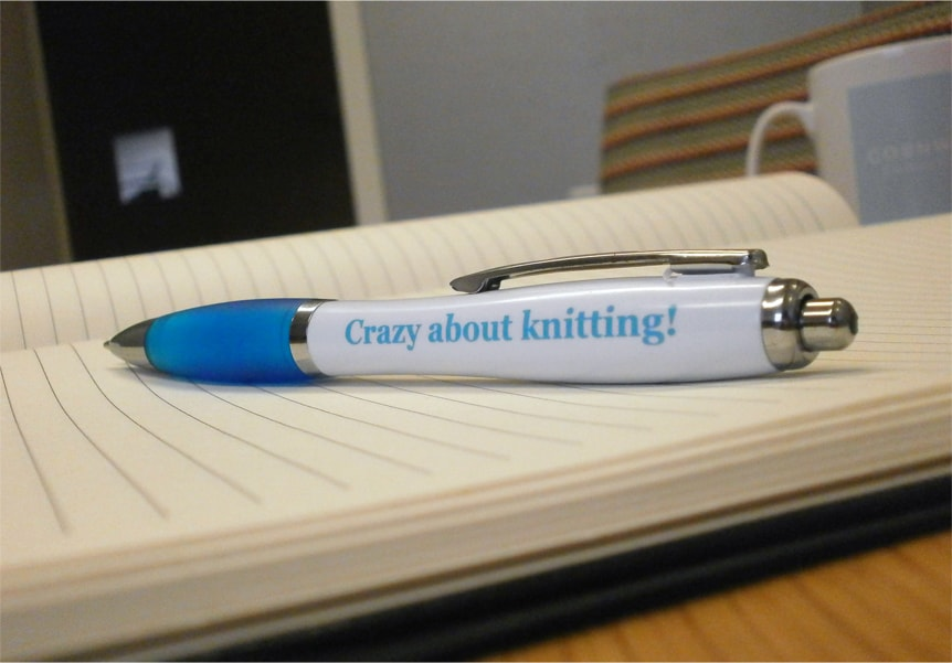 Knitting Promotional Pens