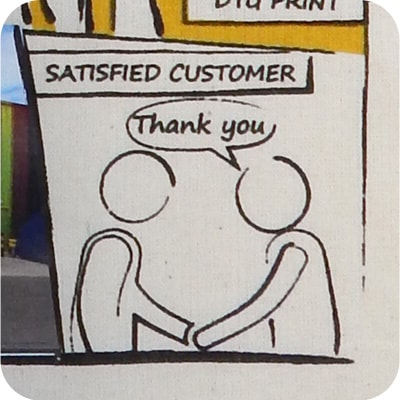 1 Colour - Satisfied Customer