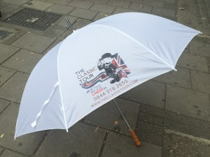 Grand Imperial umbrella test size