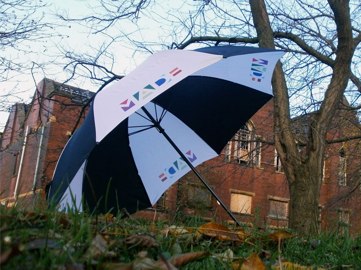 MADE TV Custom Printed Umbrella