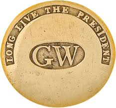 Promotional George Washington Button