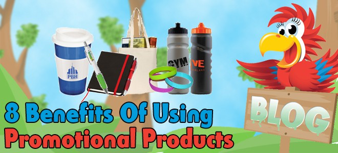 8 Benefits of Using Promotional Products