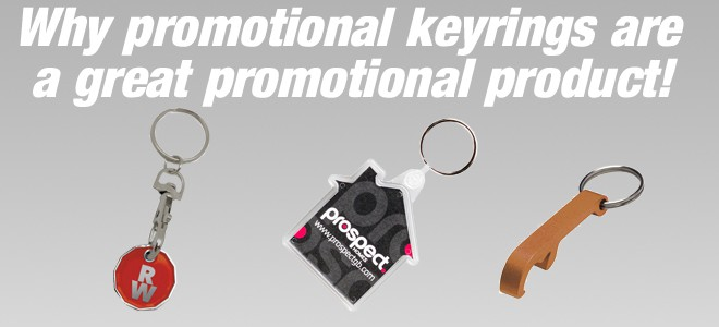 Why promotional keyrings are a great promotional product!