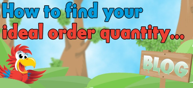 How to find your ideal order quantity...