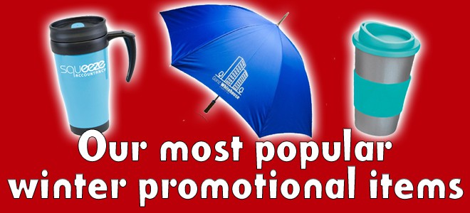 Our most popular winter promotional products