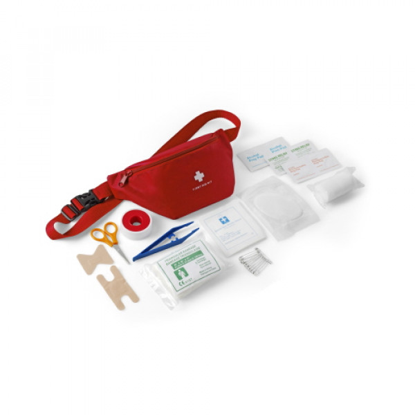 Nylon Bag with First Aid Kit