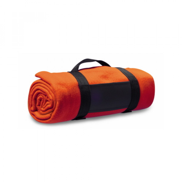 Fleece Blanket - Orange