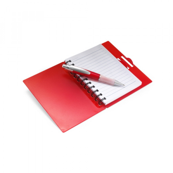 Lined Note Pad In Plastic Case