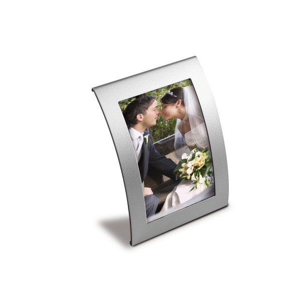 Curved Metal Photo Frame