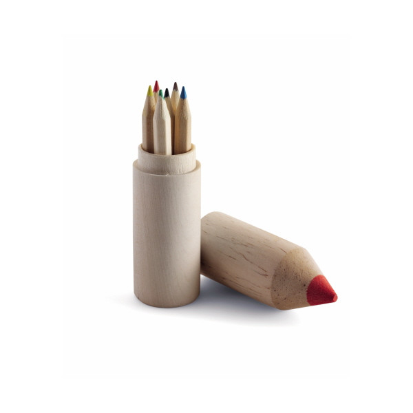 Pencil Holder with 6 Pencils