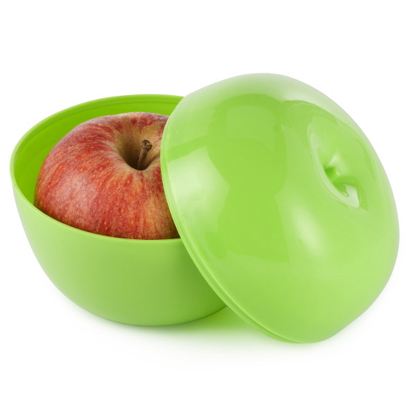 Plastic Box For An Apple