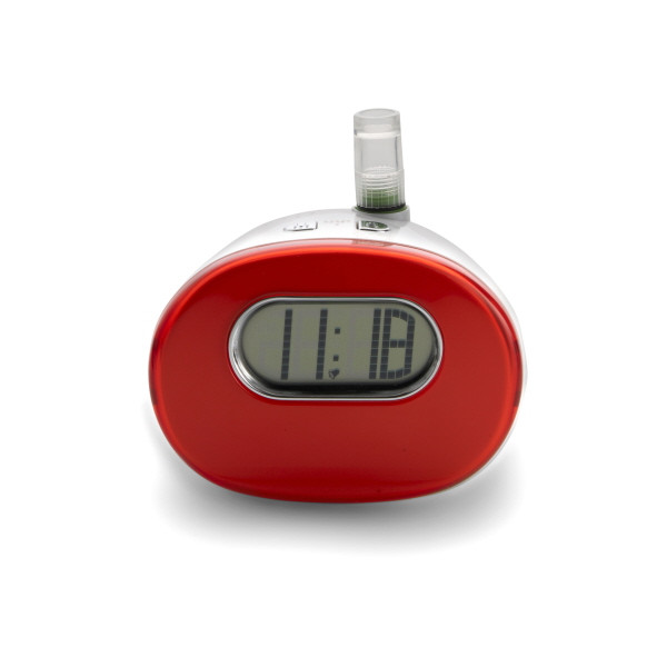 Water Powered Alarm Clock - Red