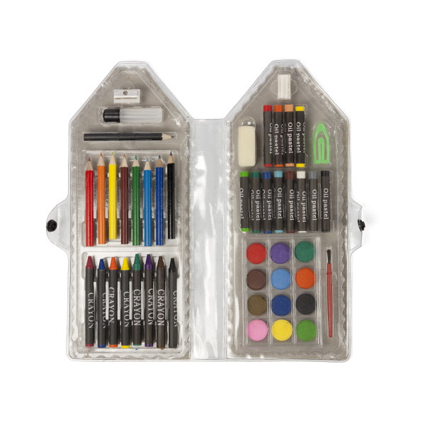 Forty Eight Piece Pencil Art Case