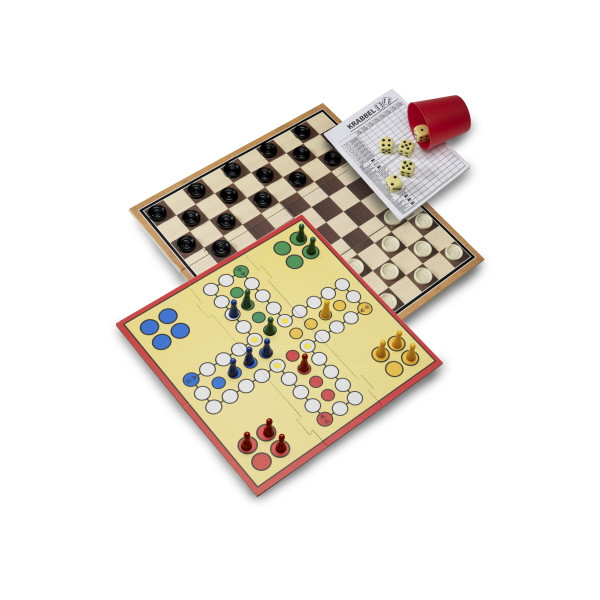 Chequers, Ludo And Dice Games