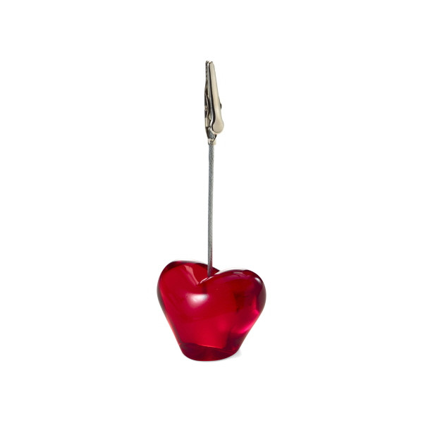 Heart Shaped Memo Holder