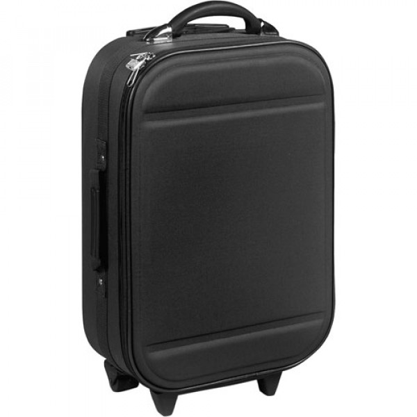 Trolley with Extendible Grip - Black