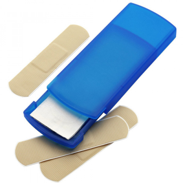 Plastic Case with Plasters