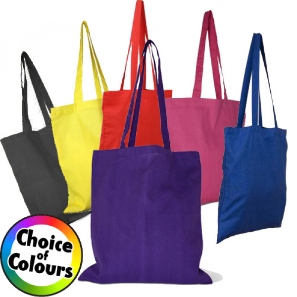 Invincible Cotton Shopper Bag