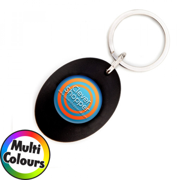 Carro Trolley Coin Keyring