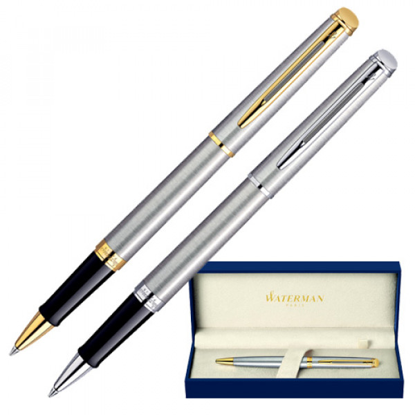 Waterman Hemisphere Essential Steel Ballpen
