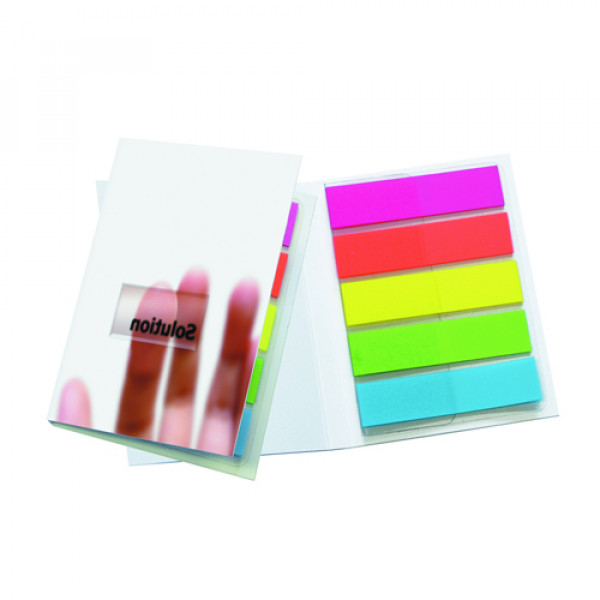 Sticky-Smart Cover Index Tabs
