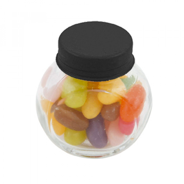 Mini Glass Jar with Jelly Beans