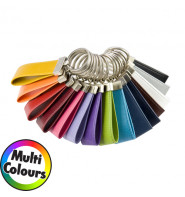 Belluno Colours Large Loop Key Fob