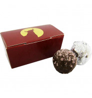 Chocolate Truffle Box with 2 Chocolates