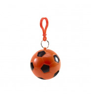 Poncho in a Plastic Football - Orange