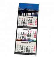 Foldable Yearly Calendar