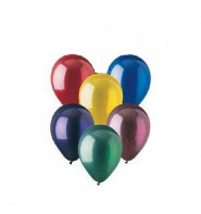 12 Inch Crystal Finish Balloons