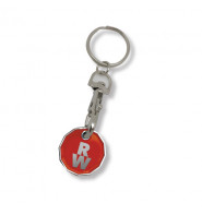 New 12 Sided £1 Trolley Coin Keyring