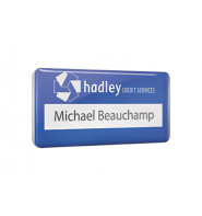 Scratch Resistant PVC Name Badge