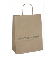Twist Handle Paper Bags - Large