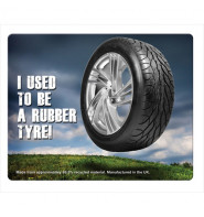 Tyre Brite-Mouse Mat - Rectangular